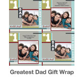 Greatest Dad Gift Wrap