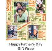 Happy Father's Day Gift Wrap