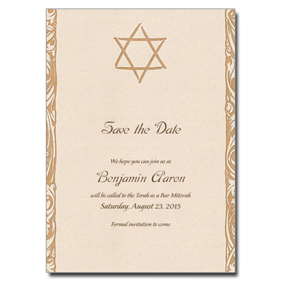 Bar bat mitzvah bat mitzvah card with magnet antique m4hsunfo