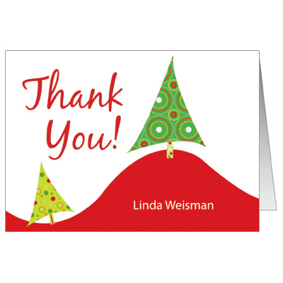 thank you cards 10 christmas stocking thank christmas thank you cards ...