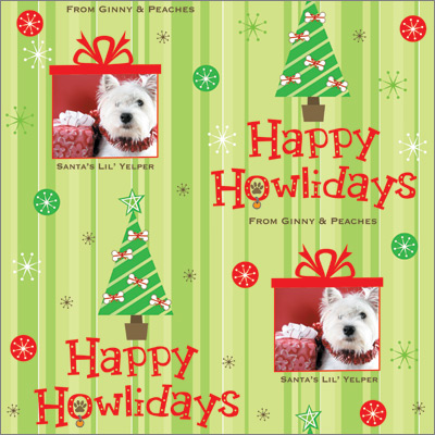 Happy Howlidays Gift Wrap