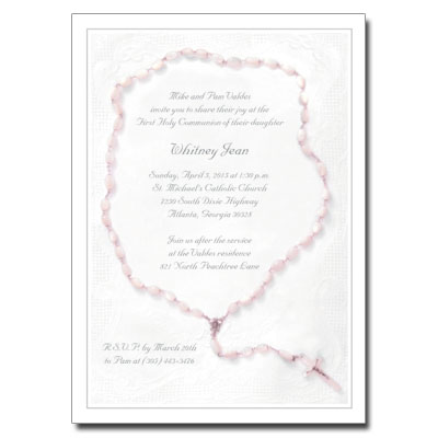 Holy Rosary Invitation